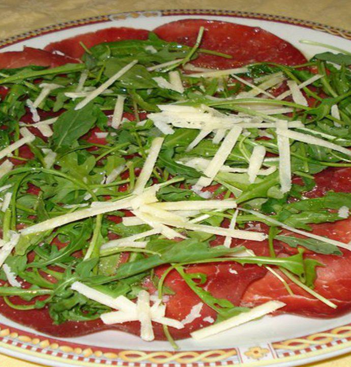Bresaola, rughetta e parmigiano