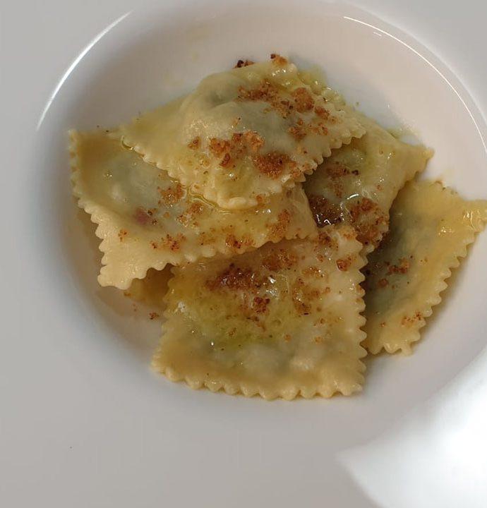 Ravioli broccoli siciliani e patate